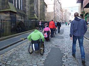 Back Up in Edinburgh